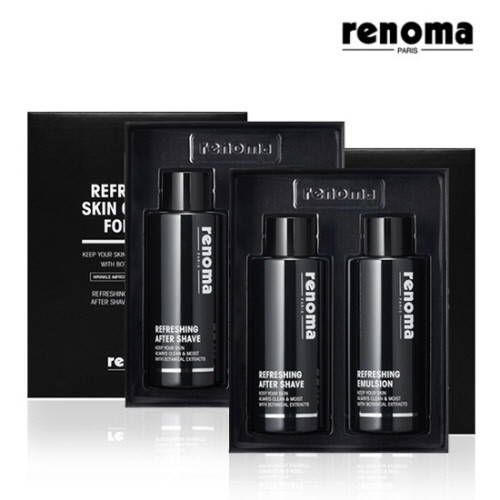 [1+1] [대용량신상] 레노마 리프레싱 대용량 남성 화장품 2종세트